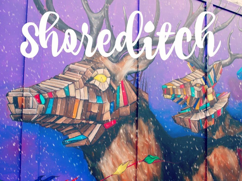 Shoreditch Street Art 2016 Londen