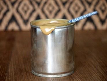 Dulce de leche karamelsaus van gecondenseerde melk