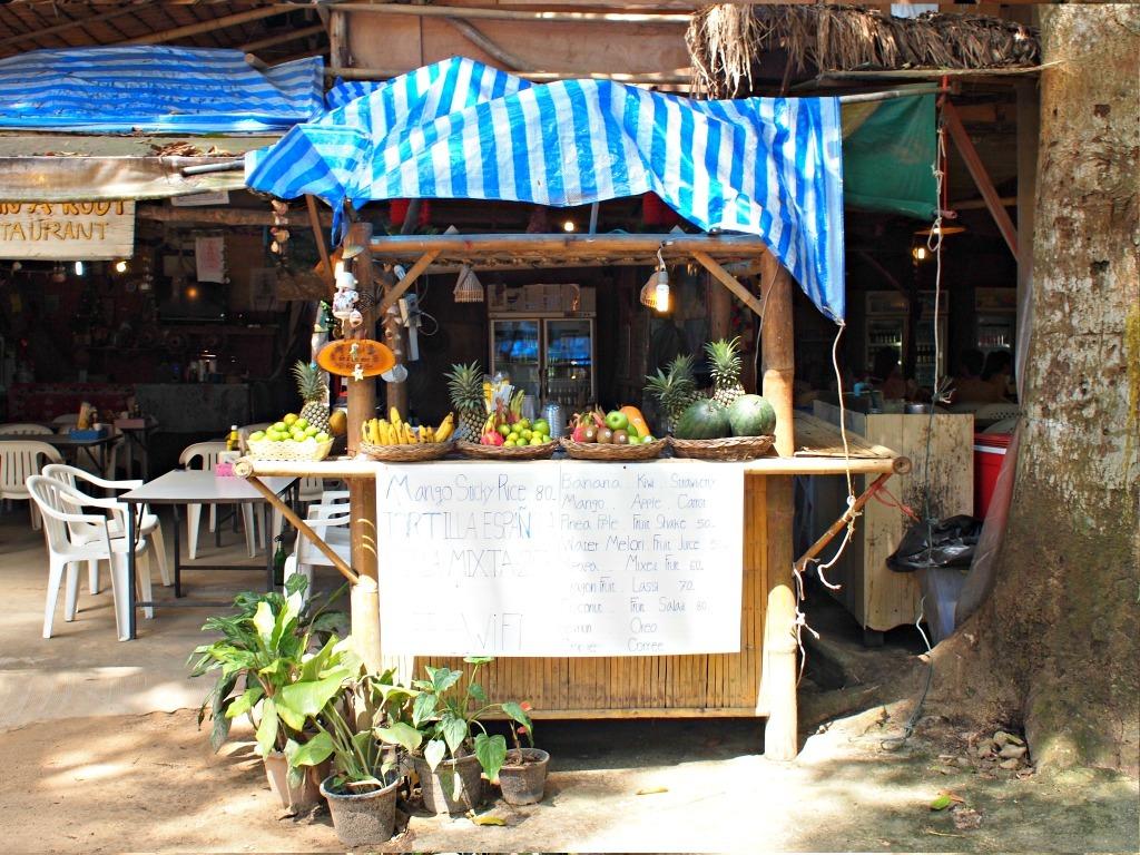 Goedkoop eten Railay Krabi Zuid Thailand