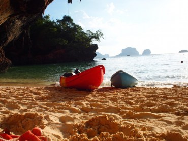 Railay Thailand Kajakken