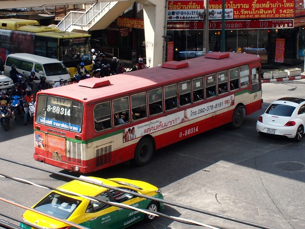 Vervoer Bangkok Bus