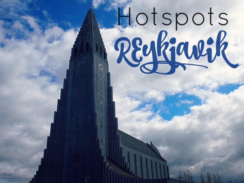 Hotspots Reykjavik Restaurans bars eten