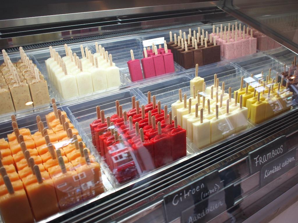 Ijsmanschap Amsterdam West ambachtelijke ijsjes popsicle bar