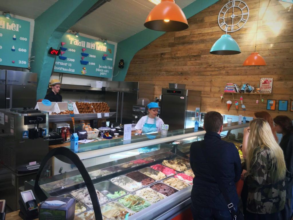 Hotspot Reykjavik Ijsland ijsjes