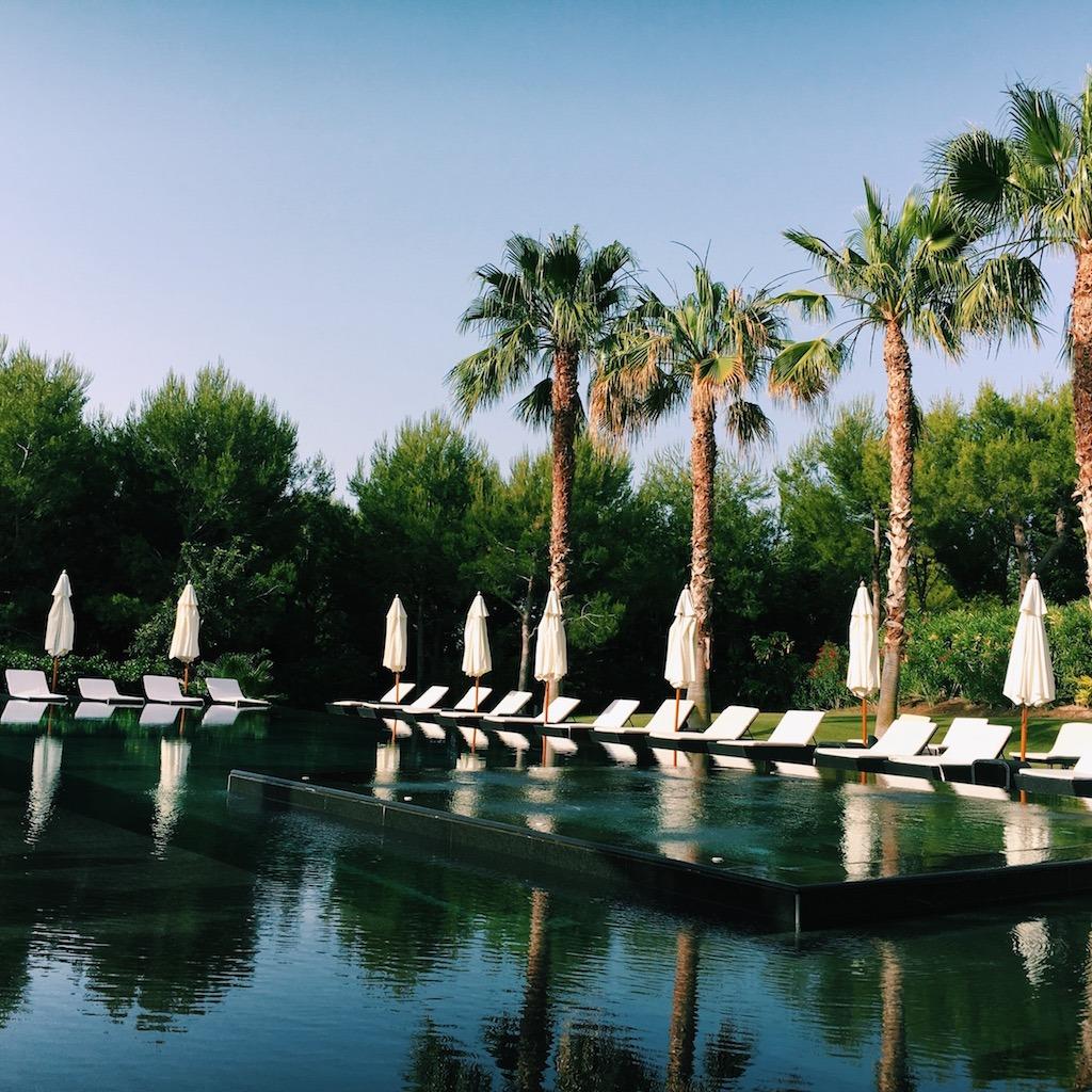 Zwembad Asia Gardens Hotel Benidorm Allicante Spanje