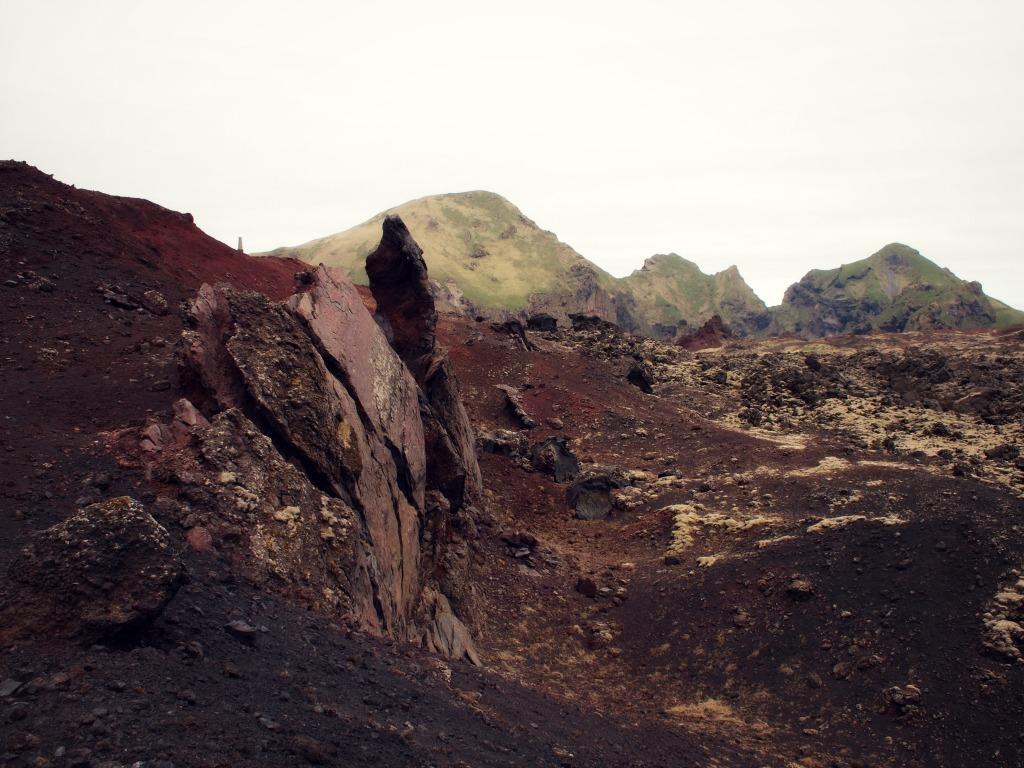 vulkaanlandschap ijsland eiland