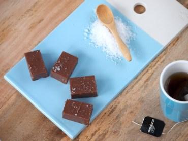 Salted Caramel Chocolate Fudge