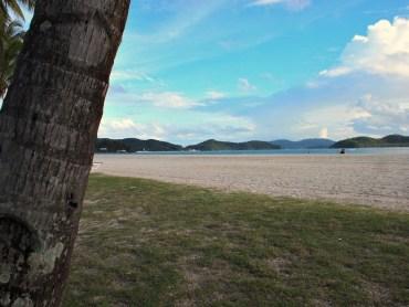 Rustig strand Langkawi