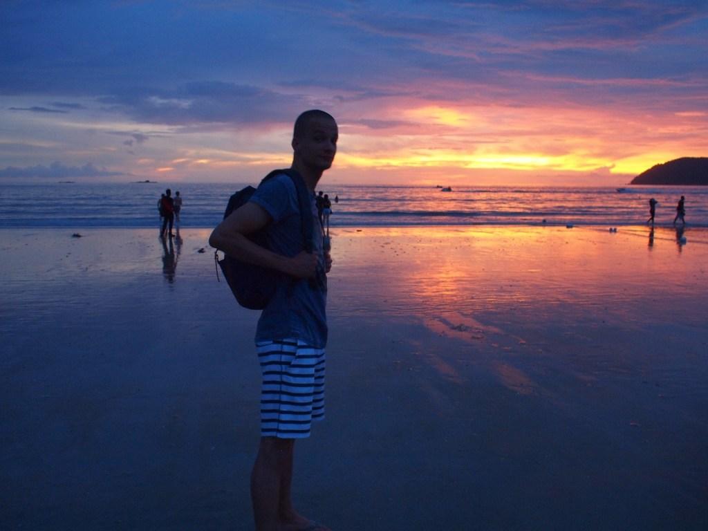 Zonsondergang Cenang Beach