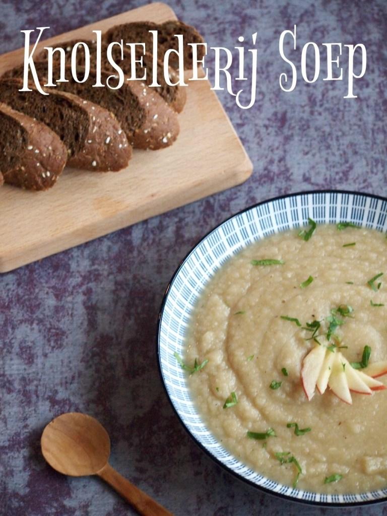 Glutenvrije Knolselderij soep