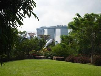 Groene kunst in singapore