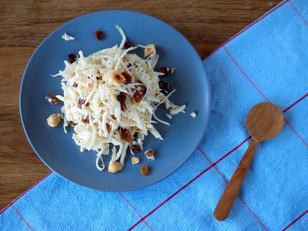 Magere selderijsalade zonder mayonaise