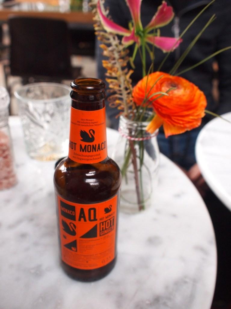 Gember bier benji's Amsterdam oost