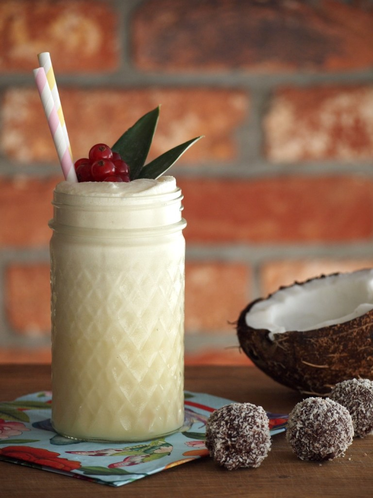 Alcoholvrije Pina colada cocktail