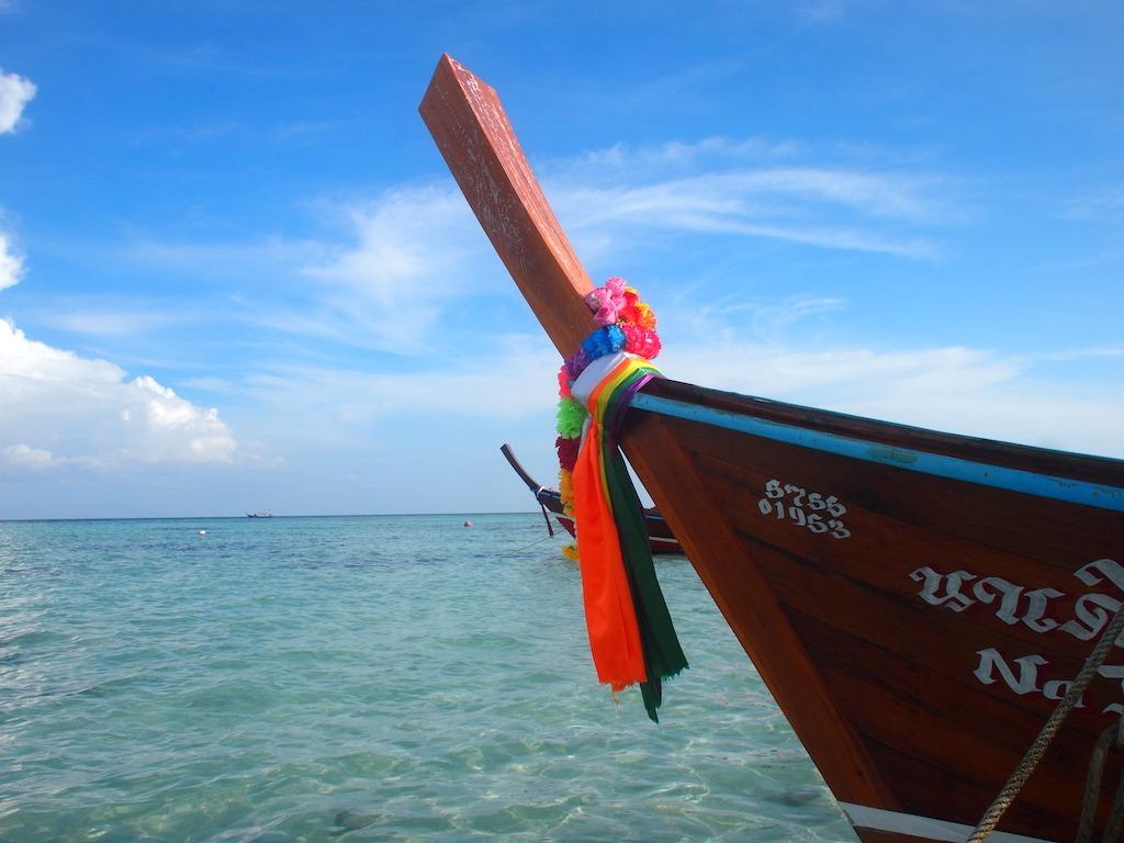 Route drie weken Zuid Thailand