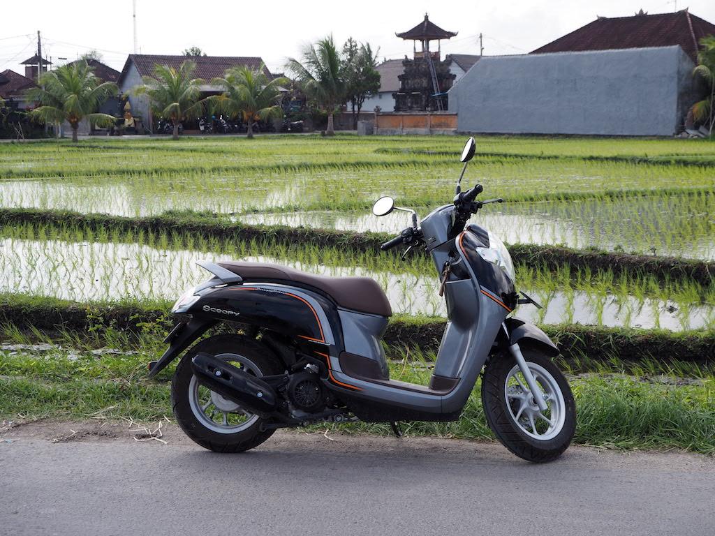 Scooter huren Bali tips