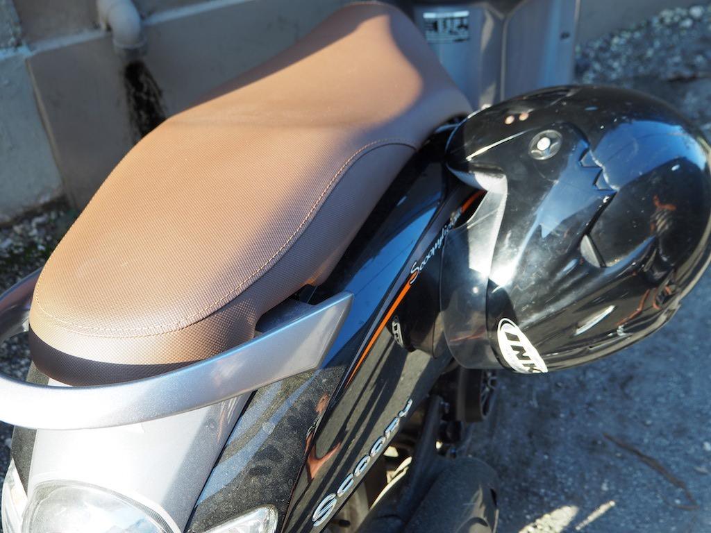 Veilig helm truc scooter bali