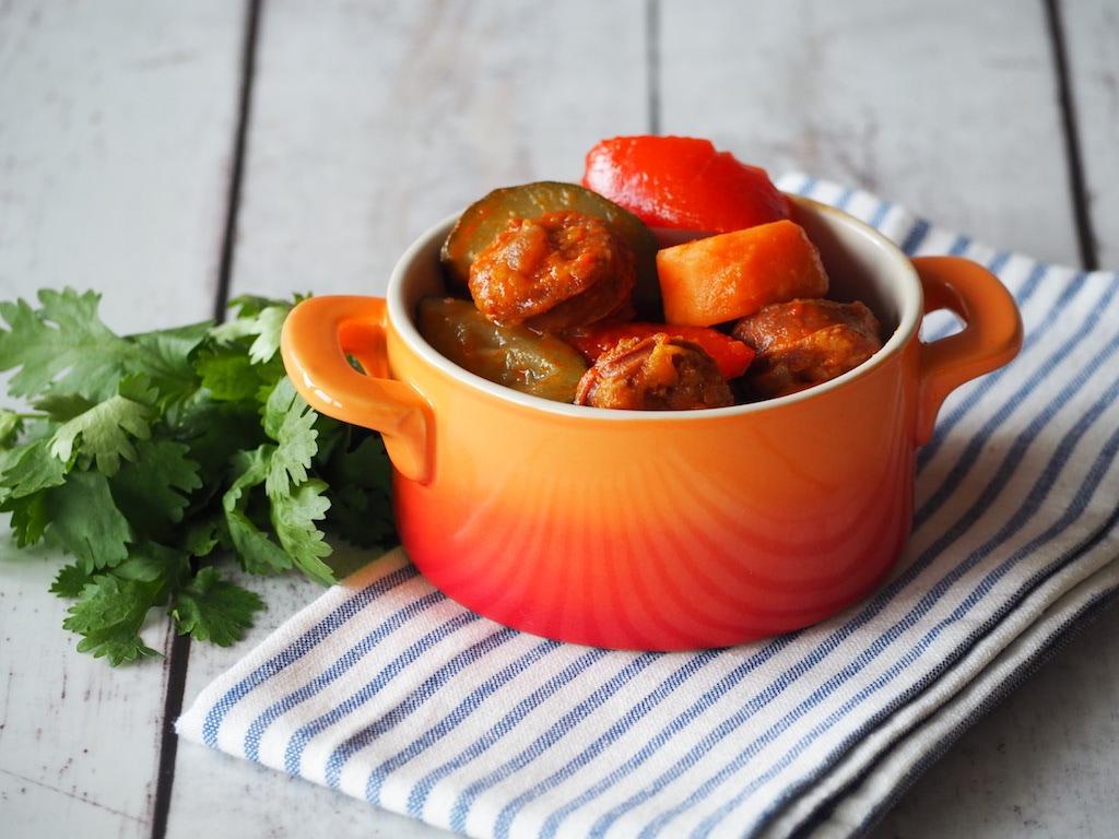 Spaanse stoofpot met chorizo