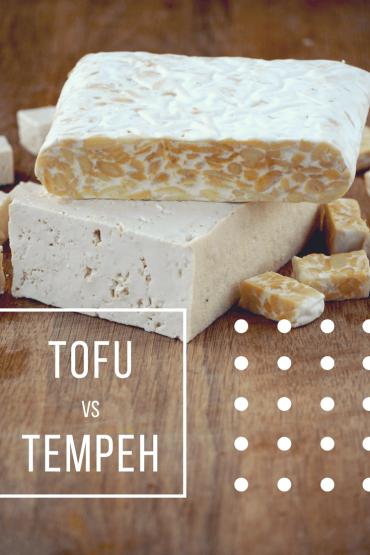 Verschil tofu en tempeh