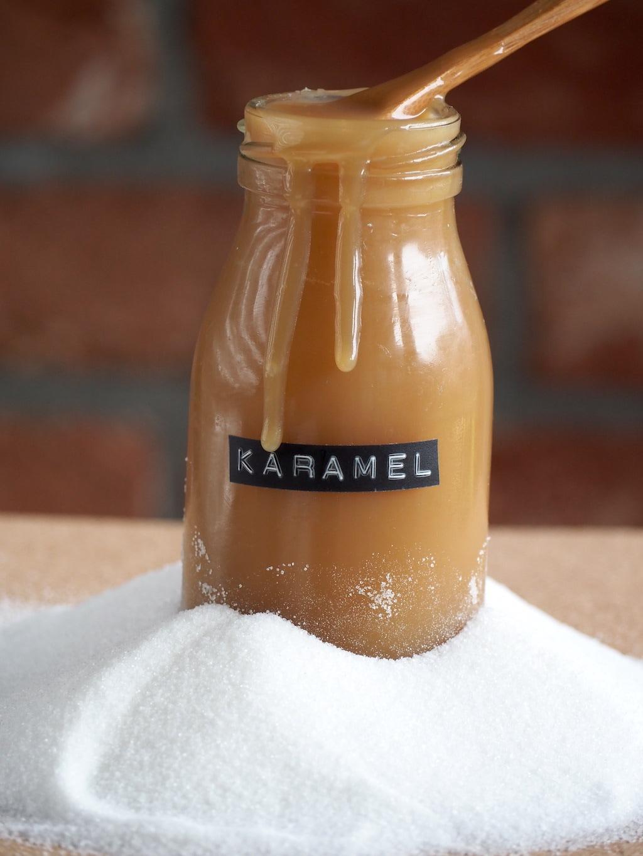 Gezouten karamel saus flesje