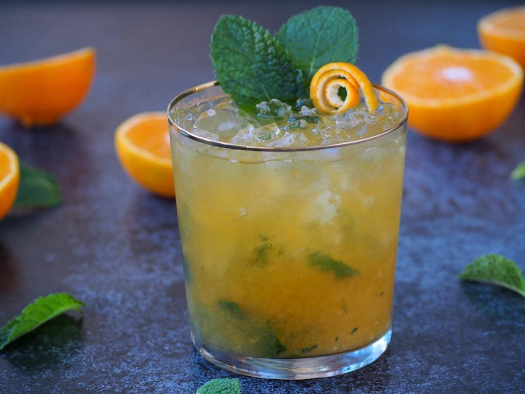 Mandarijn Mojito met rum en amaretto