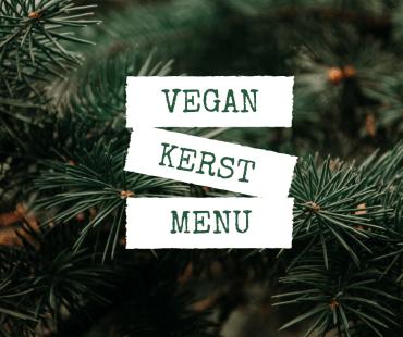 Vegan Kerstmenu