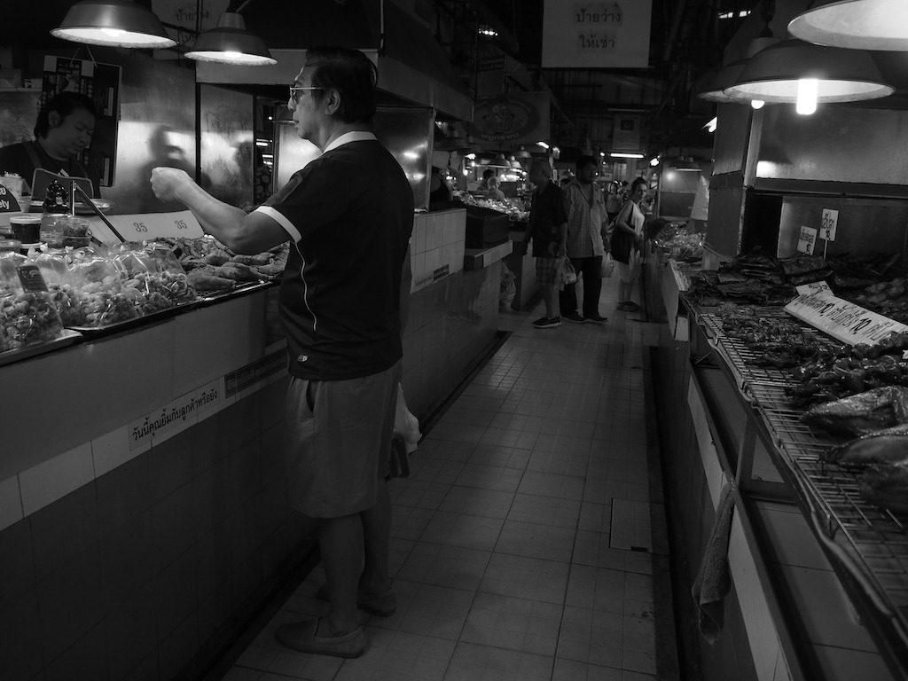 Chiang Mai Street Photography markt