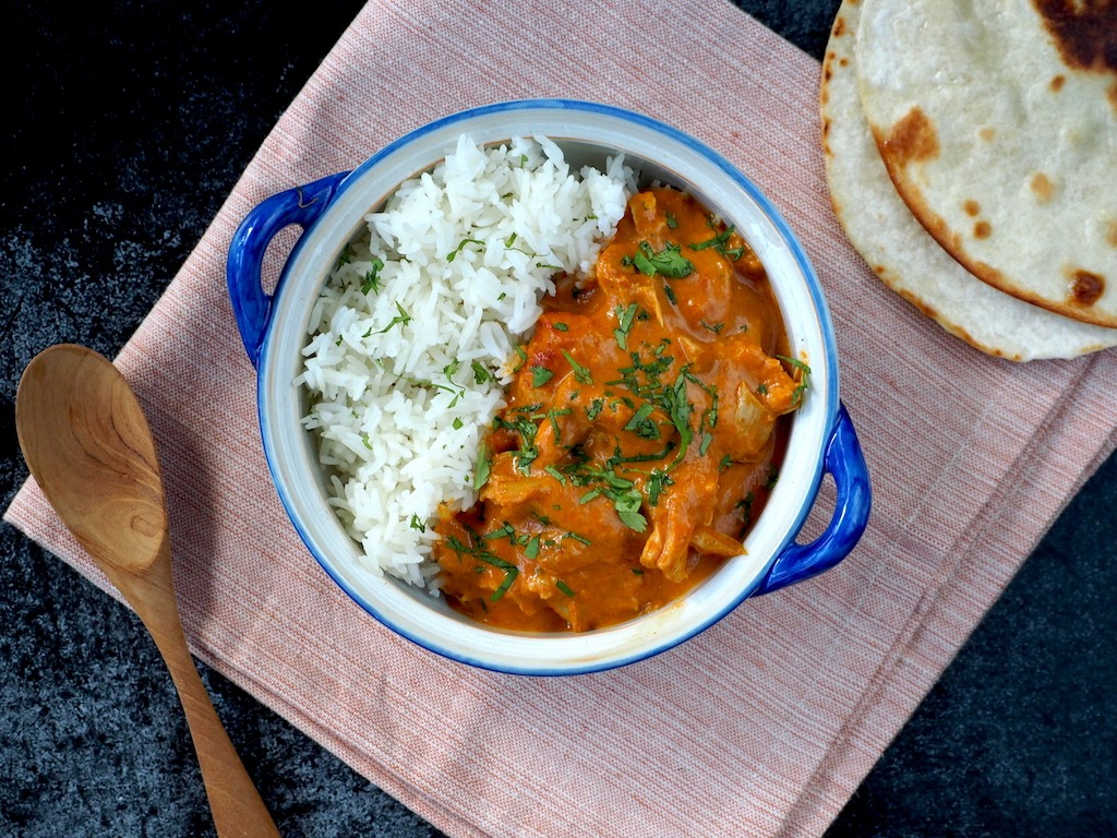 Indiase Butter chicken recept