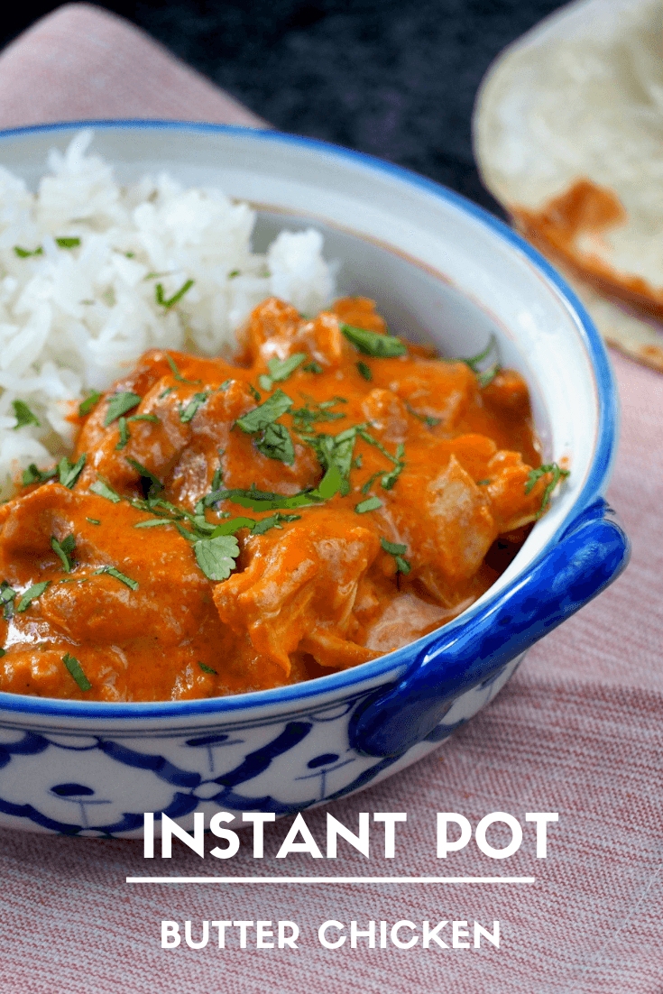 Indiase Butter Chicken Instant Pot recept