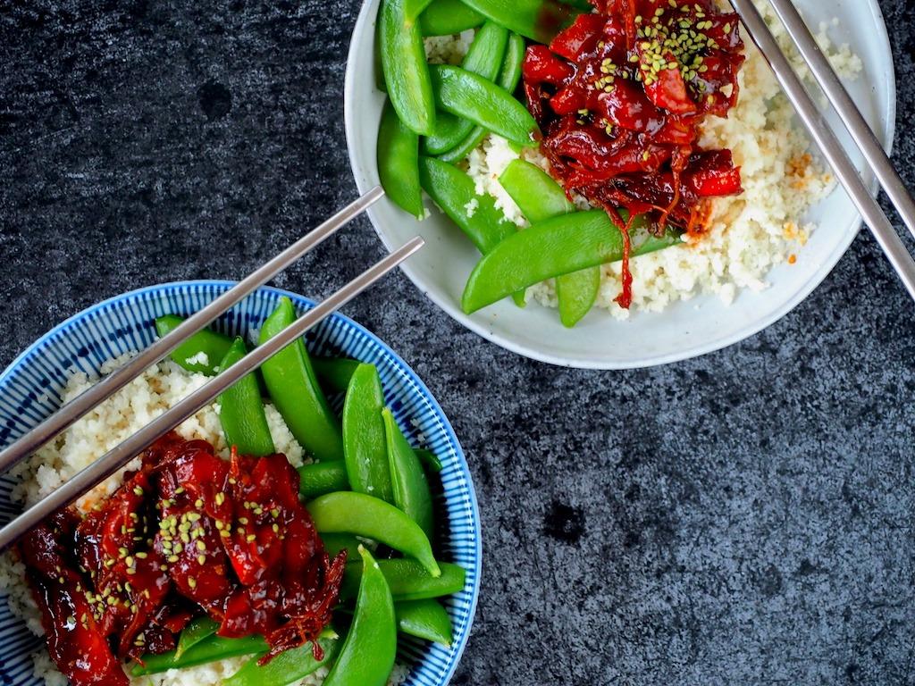 Koreaans kip uit de instant pot