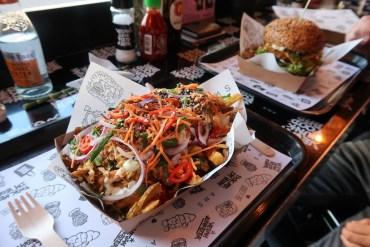 Vegan junk foodbar Kapsalon