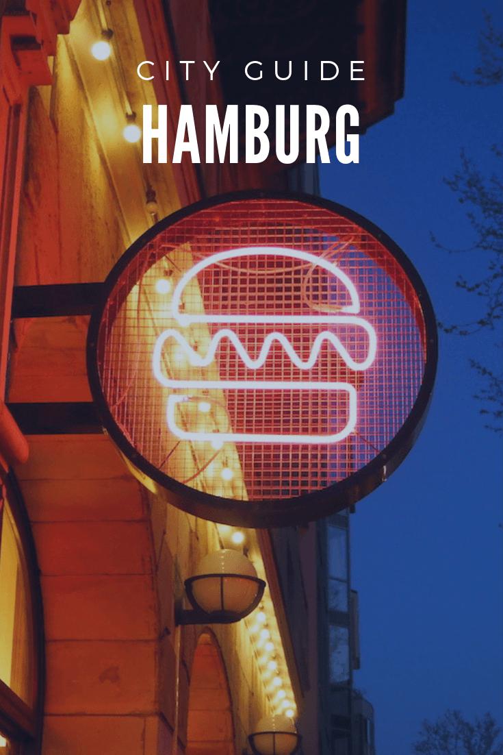 Hamburg city guide + hotspots