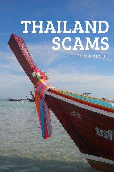 Oplichting in Thailand verhelpen