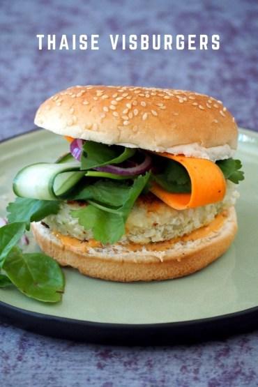 Thaise visburgers