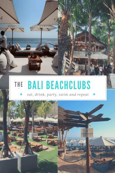Bali Beachclubs