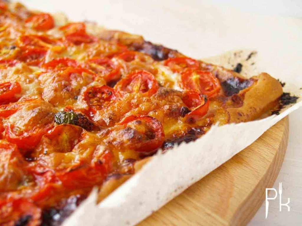 plaattaart recepten tomaat