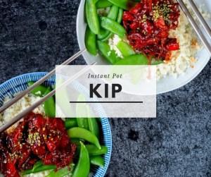 Instant Pot kip menu