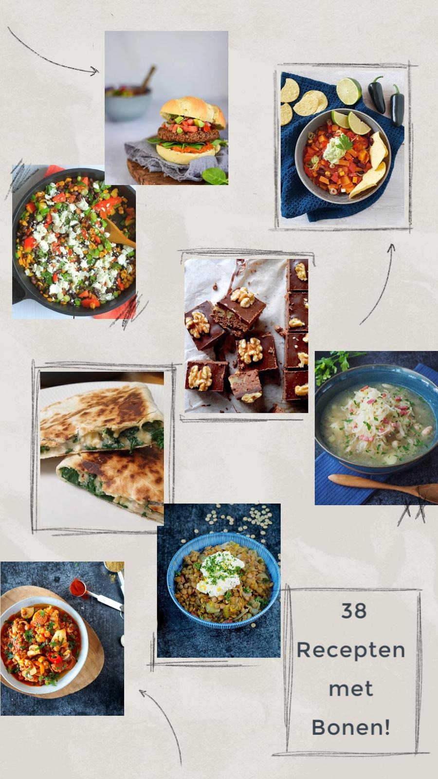 38 Recepten met bonen
