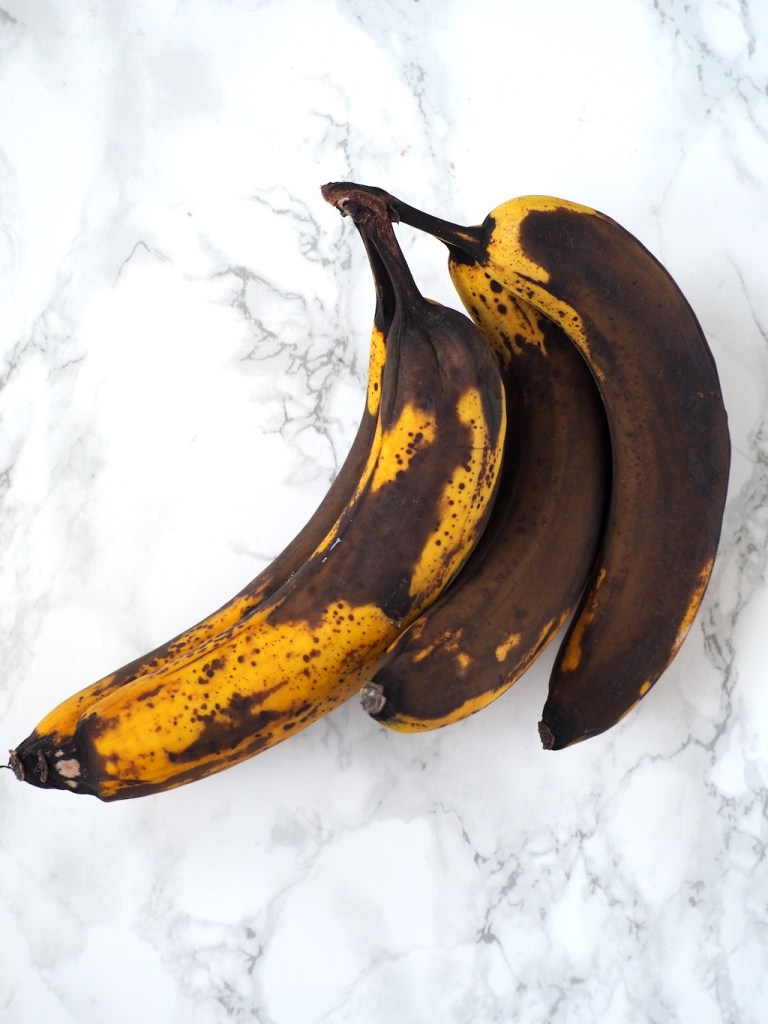 extra bruine bananen voor bananenbrood