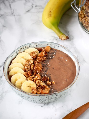 Chocolade smoothie bowl