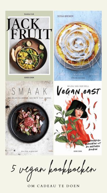 5 vegan kookboeken om cadeau te geven