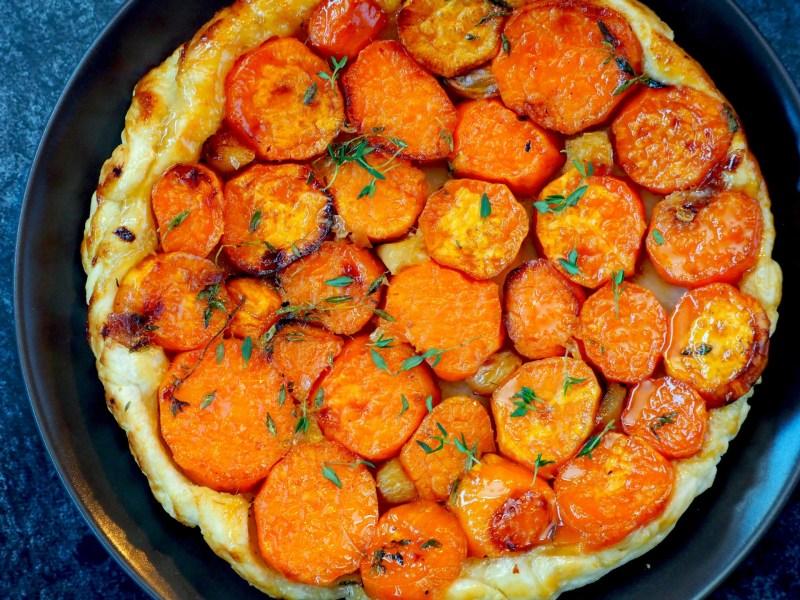 Zoete aardappel tarte tatin recept