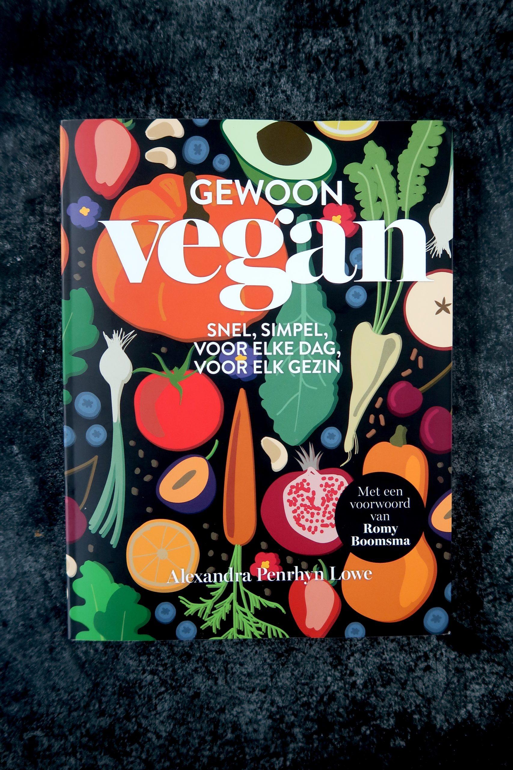 Gewoon Vegan Kaft Kookboek
