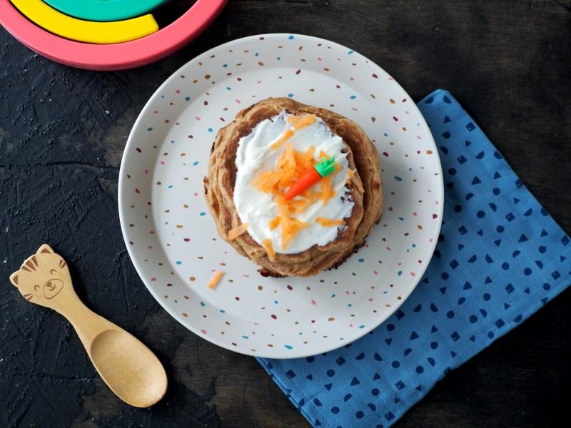Babyproof pannenkoeken met wortel recept