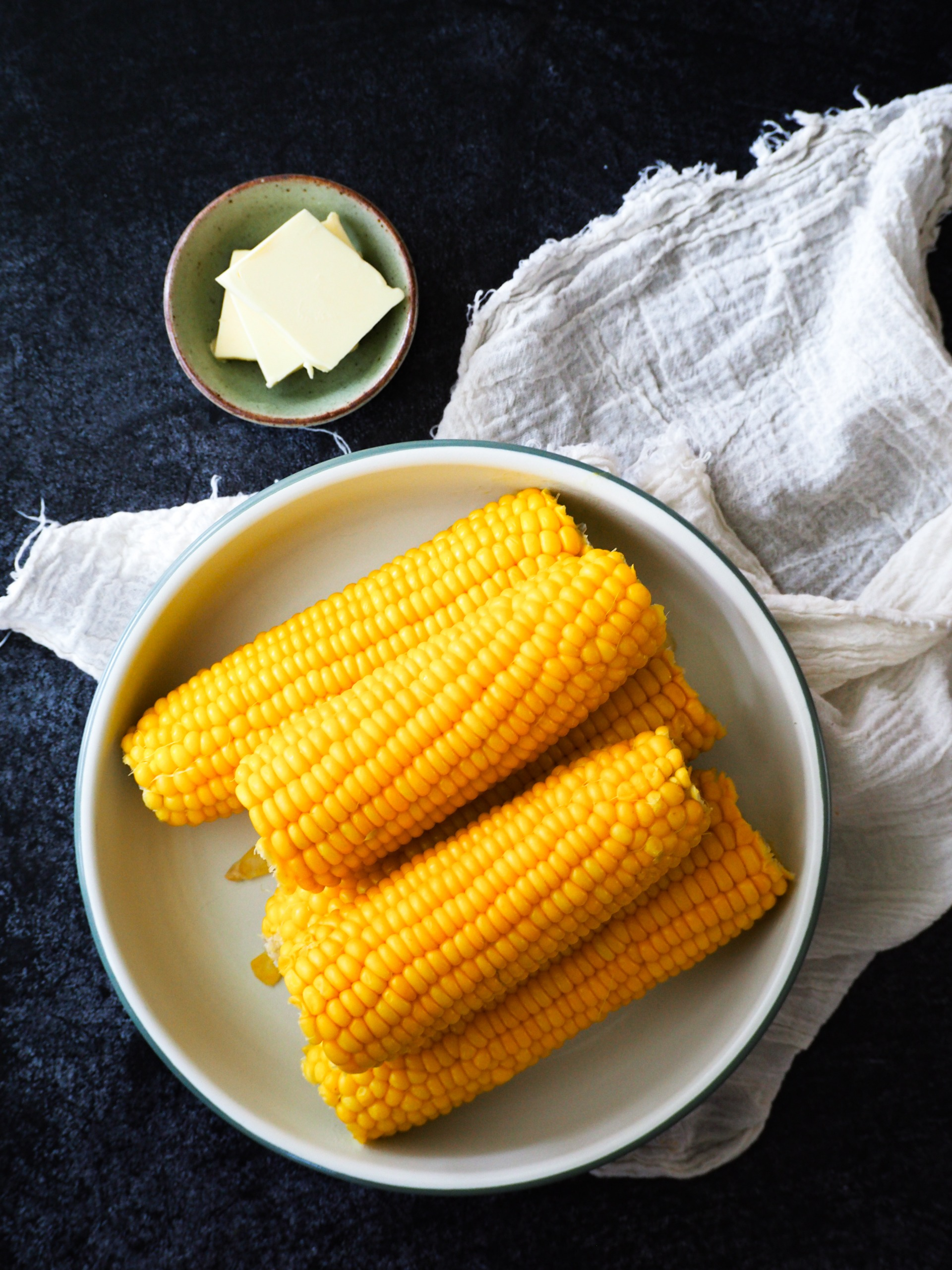 Maiskolven uit de instant pot