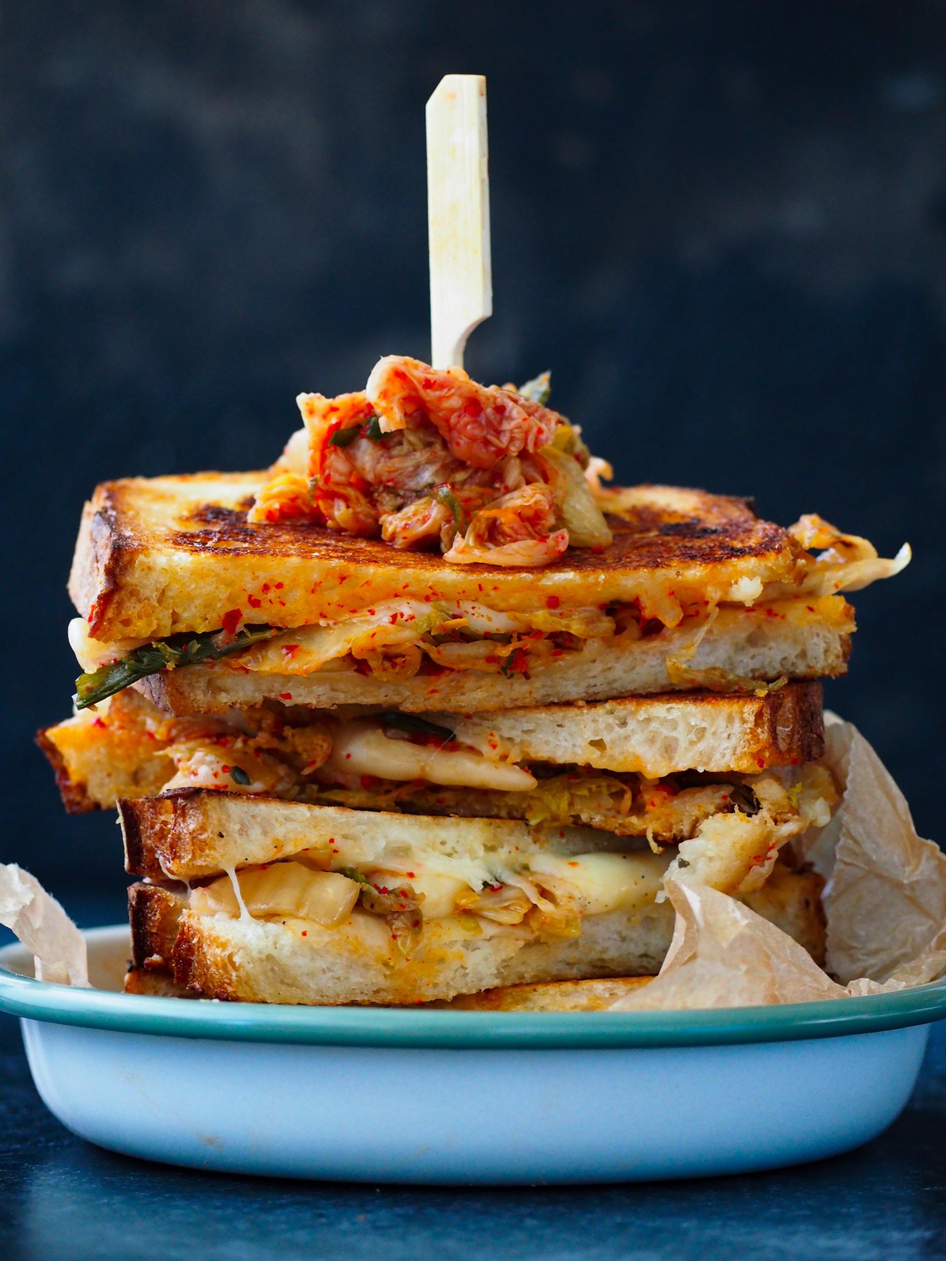 Kimchi Tosti recept