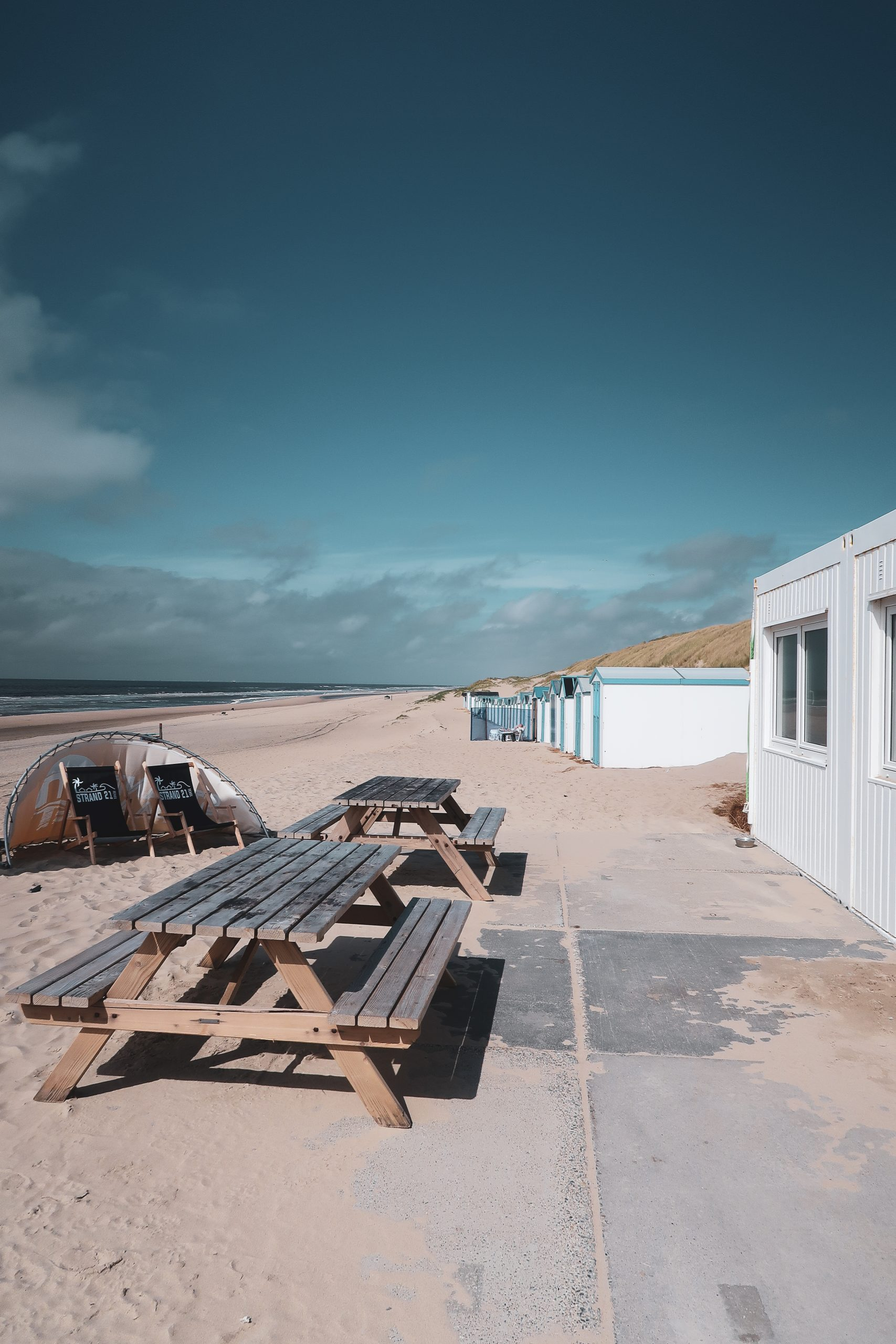 paal 21 texel strandtent