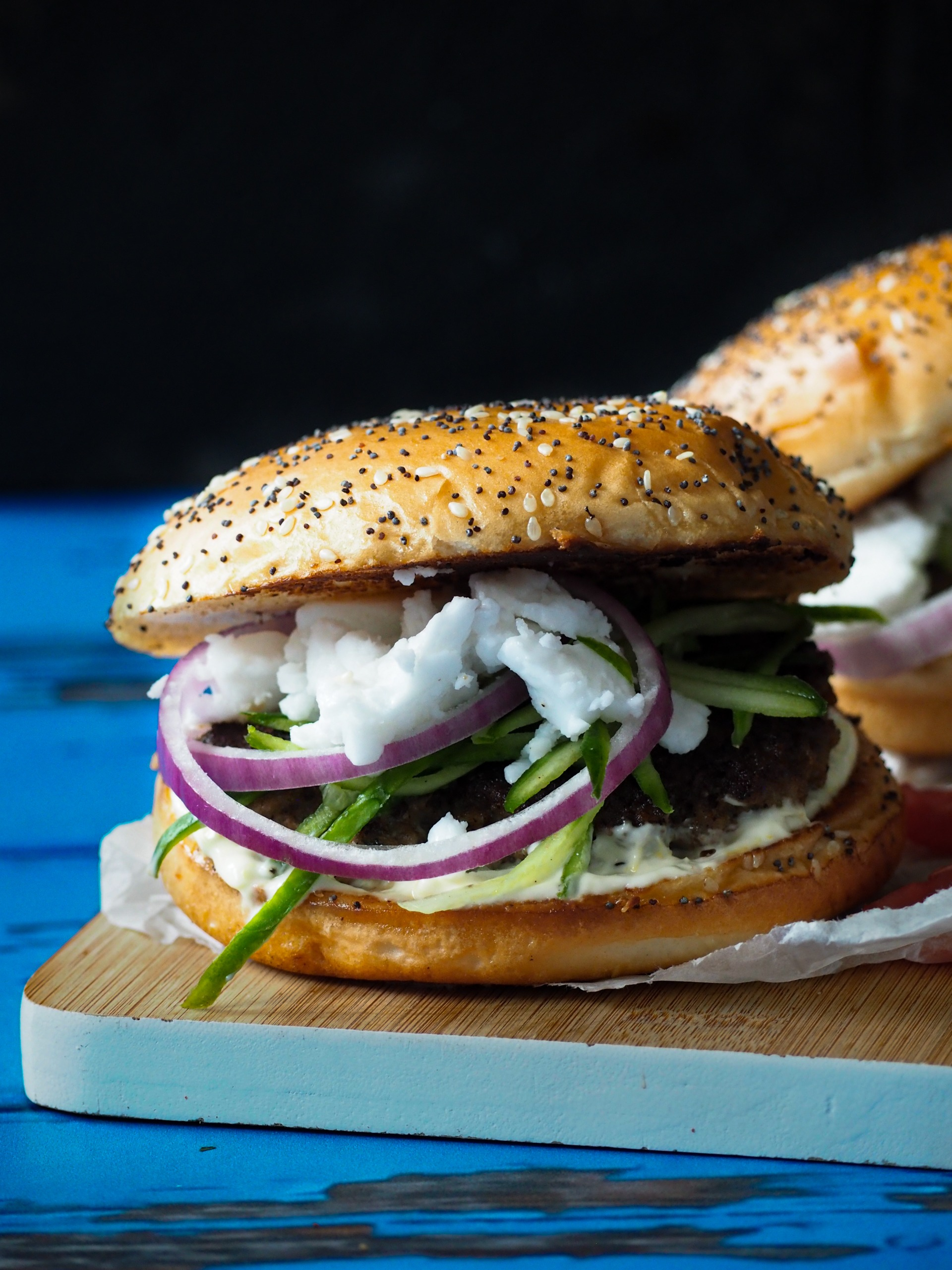 Griekse hamburger
