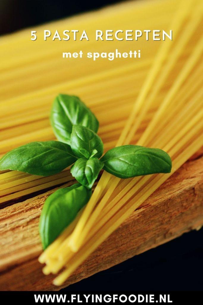 recepten met spaghetti