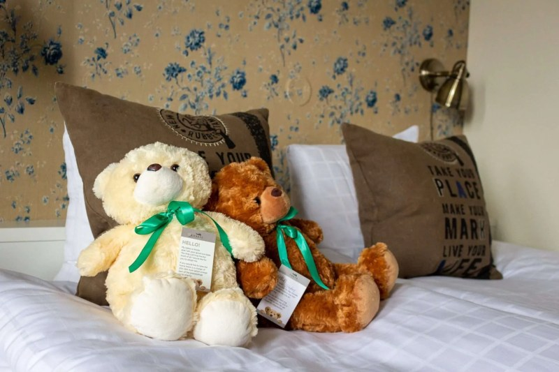 The signature teddy bears of Freys Hotel Stockholm